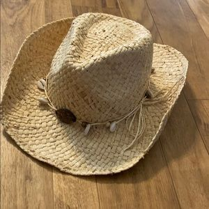 Cowboy hat with shells!